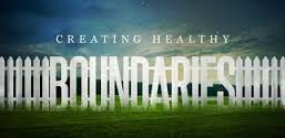 Healthy Boundaries I