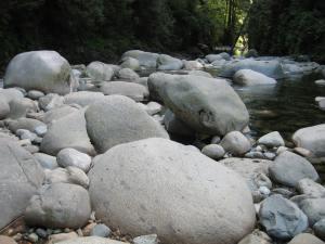 Boulders Lynn Creek July 27th